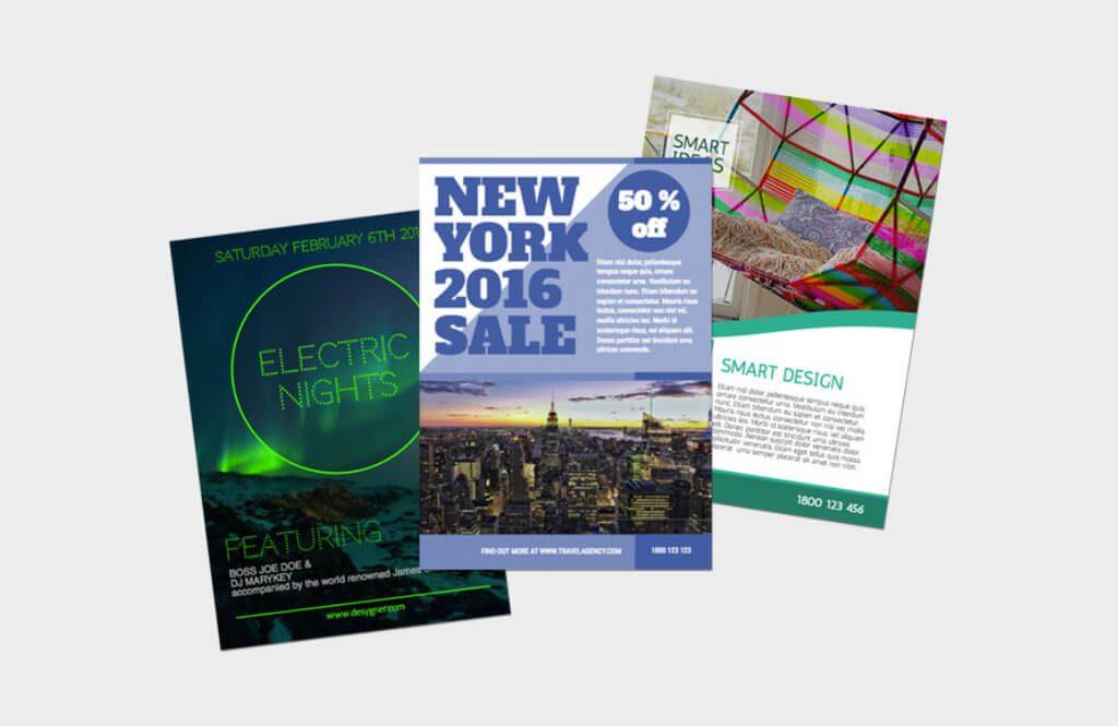 los flyers publicitarios en la época digital